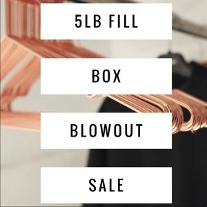 5 lb Resale or Keep Box - Sizes S/M